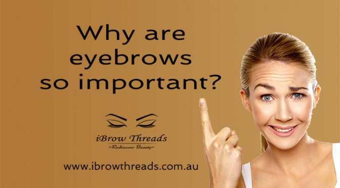 Why are eyebrows so important?
